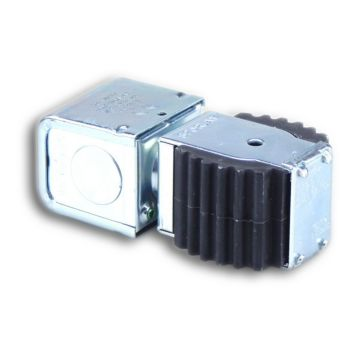 """Sporlan 310156 - Coil MKC-1 JAN 208-240V 50/60Hz w/Junction Box Red Leadwire with 1/32"""" Insulation"""