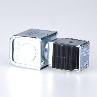 """Sporlan 310286 - Coil MKC-1 DUAL JAU 120/208-240V 50/60Hz Dual Vage Junction Box 4-Wire with 1/32"""" Insulation"""