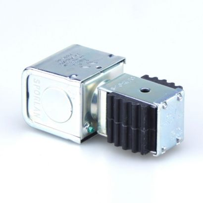 """Sporlan 310325 - Coil MKC-1 JAQ 24V 50/60Hz w/Junction Box Orange Leadwire with 1/32"""" Insulation"""