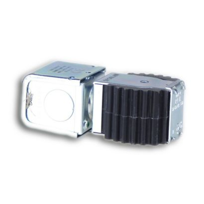 """Sporlan 311710 - Coil MKC-2 JAQ 24V 50/60Hz w/Junction Box Blue Leadwire with 1/32"""" Insulation for NC"""