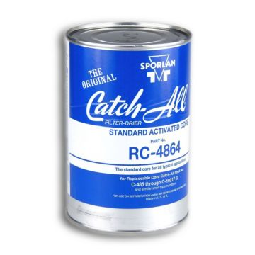 Sporlan 404360 - Drier Core RC-4864 48 cu in Activated Core Fits C-480 thru C-19200 & RSF Shells, Molded Desiccant