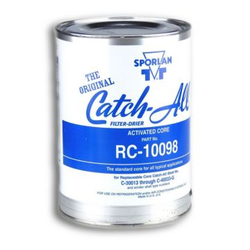 Sporlan 404400 - Drier Core RC-10098 100 cu in Activated Core Fits C-30000 & C-40000, Molded Desiccant