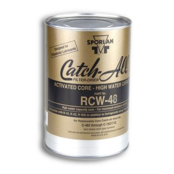 Sporlan 404401 - Drier Core RCW-48 GOLD 48 cu in Activated Gold Drier Core Fits C-480 thru C-19200 & RSF Shells, Molded De