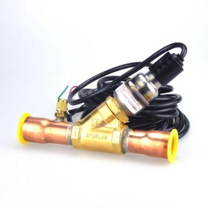 "Sporlan 950038 - Evaproator Control Valve CDST-7 9ODF 20'-S 1-1/8"" ODF Straight-thru 20'"