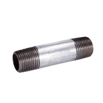 "Streamline 563-001 - 1/2"" x Close Galvanized Standard Welded Steel Pipe Nipple"