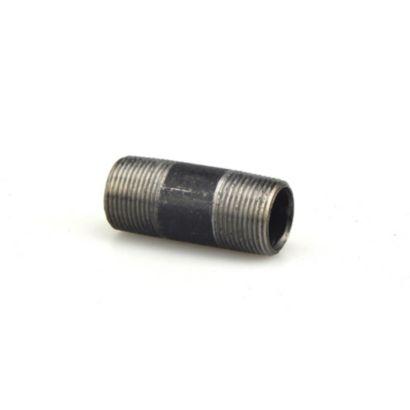 "Streamline 585-030 - 1"" x 3"" Black Standard Welded Steel Pipe Nipple"