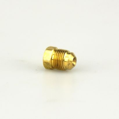 "Streamline A 00122 - 3/8"" Brass Flare Plug Fitting, P2-6"