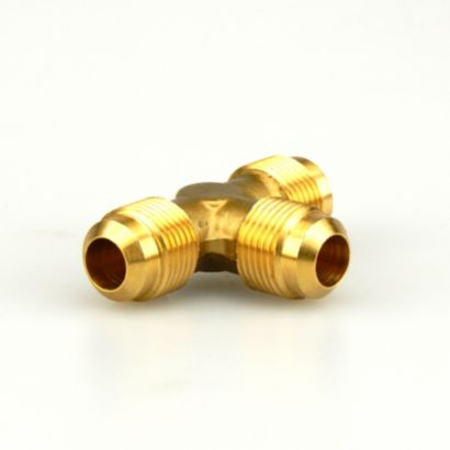 "Streamline A 00344 - 1/2"" Brass Flare to Flare to Flare Tee Three-Way Fitting, T2-8"