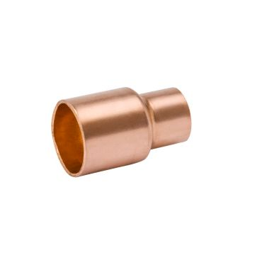"Streamline W 01056 - 1-3/8"" OD x 1-1/8"" OD Reducing Coupling, Copper Fitting"