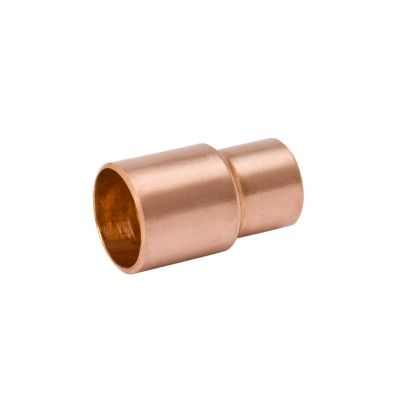 "Streamline W 01350 - 1-5/8"" FTG x 1-3/8"" OD Reducing Bushing, Copper Fitting"