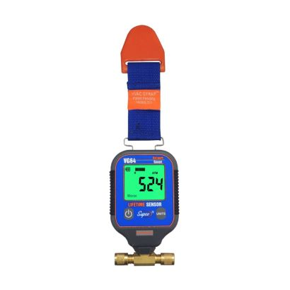 Supco VG64 - Dual Port Digital Vacuum Gauge