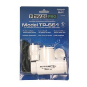 TradePro 97633 - Safe-T-Switch SS1 Primary Drain/Secondary Drain outlet Shut-off Switch