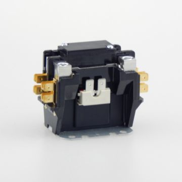 TradePro TP-CON-1/24/30 -  1P 24V 30A Contactor W/Shunt & Cover