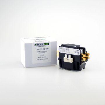 TradePro TP-CON-1/24/40 - 1P 24V 40A Contactor W/Shunt
