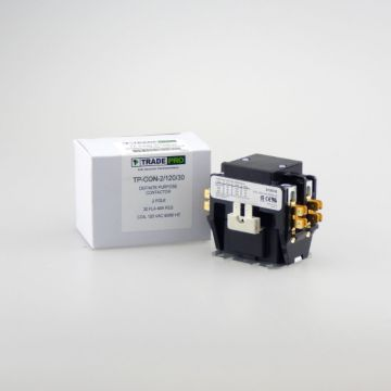 TradePro TP-CON-2/120/30 -  2 Pole 120V 30 Amp Contactor