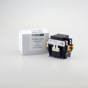 TradePro TP-CON-2/120/40 -  2 Pole 120V 40 Amp Contactor