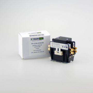TRADEPRO® TP-CON-2/240/40 - 2 Pole 240V 40 Amp Contactor