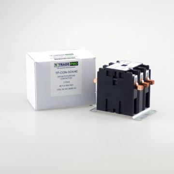 TradePro TP-CON-3/24/40 -  3P 24V 40A Contactor