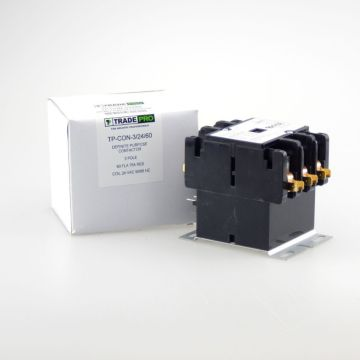 TradePro TP-CON-3/24/60 -  3 Pole 24V 60 Amp Contactor
