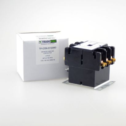 TRADEPRO® TP-CON-3/120/60 - 3 Pole 120V 60 Amp Contactor