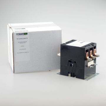 TradePro TP-CON-3/240/75 -  3 Pole 240V 75 Amp Contactor