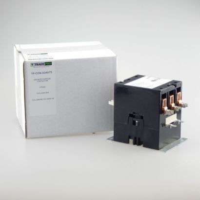 TRADEPRO® TP-CON-3/240/75 - 3 Pole 240V 75 Amp Contactor
