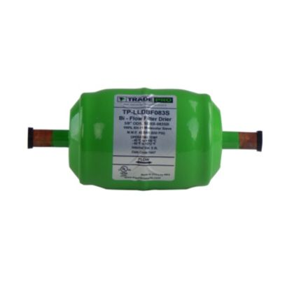 "TRADEPRO® SDXB-083SB - 3/8"" Sweat 16 Cubic Inch Biflow Liquid Line Drier"