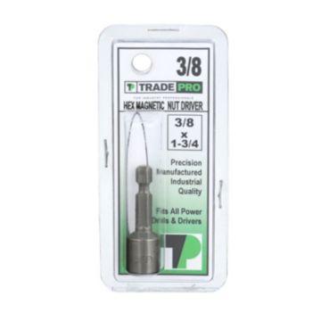 TRADEPRO® TP-10028 - TRADEPRO® Hex Magnetic Chuck 3/8 x 1-3/4