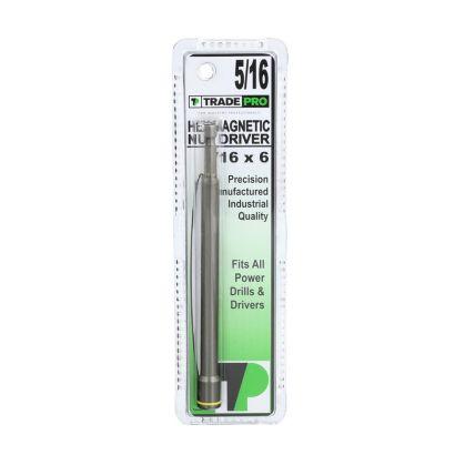 TRADEPRO® TP-10076 - TRADEPRO® Hex Magnetic Chuck 5/16 x 6