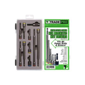 TRADEPRO® TP-10114 - 10 Piece Chuck Assortment