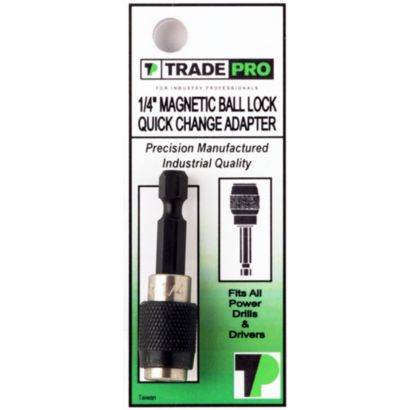 "TRADEPRO® TP-10575 - 1/4"" x 2"" Quick Change Adapter"