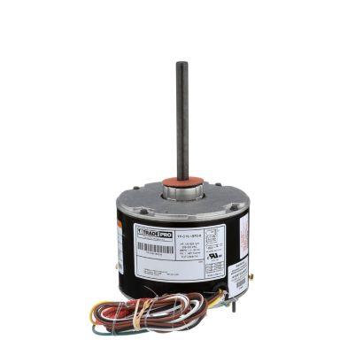 TRADEPRO® TP-C16-1SP2-8 -  1/6 HP Single Speed 825 RPM 230V Condenser Fan Motor