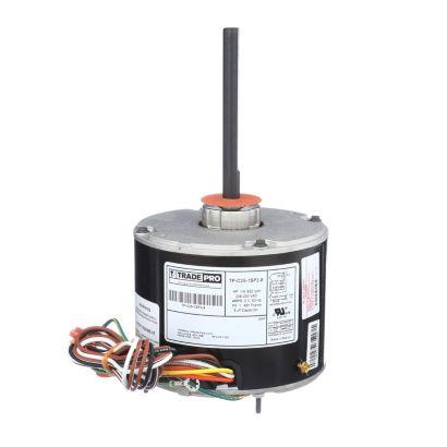 TRADEPRO® TP-C25-1SP2-8 -  1/4 HP Single Speed 825 RPM 230V Condenser Fan Motor