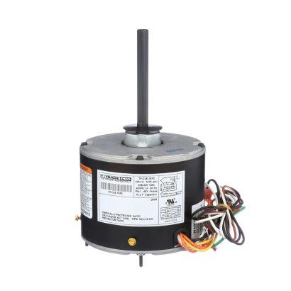 TRADEPRO® TP-C25-1SP2 -  1/4 HP Single Speed 1075 RPM 230V Condenser Fan Motor