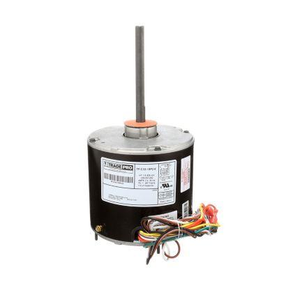 TRADEPRO® TP-C33-1SP2-8 -  1/3 HP Single Speed 825 RPM 230V Condenser Fan Motor
