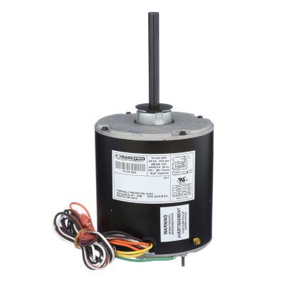 TRADEPRO® TP-C75-1SP2 -  3/4 HP Single Speed 1075 RPM 230V Condenser Fan Motor
