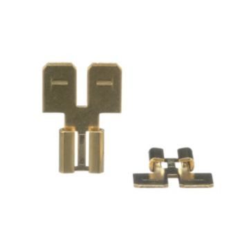 TradePro TP-TERM-7MMF250 - Double Male-Female Adapter (Flat) - 40 per pack