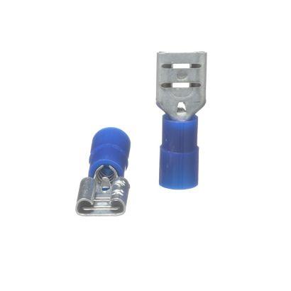TRADEPRO® TP-TERM-BQDF250 - Quick Disconnect Female Blue - 100 per pack