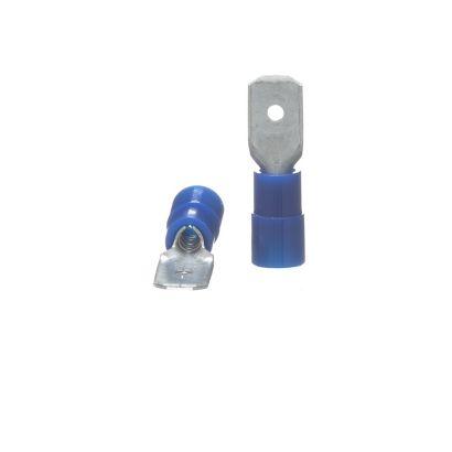 TRADEPRO® TP-TERM-BQDM250 - Male Quick Disconnect Terminals - 100 per pack