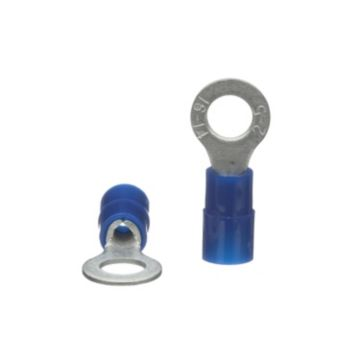 TradePro TP-TERM-BR10 - Blue Ring Terminal 100 per pack
