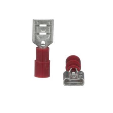 TRADEPRO® TP-TERM-RQDF250 - Quick Disconnect Female Red - 100 per pack
