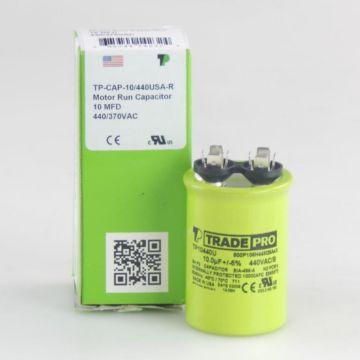 TradePro TP10440U - 10 MFD 440V Round Capacitor