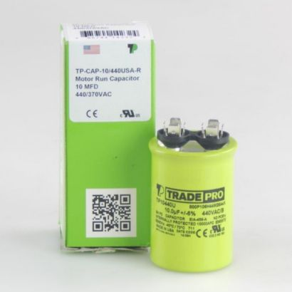 TRADEPRO® TP10440U - 10 MFD 440V Round Capacitor