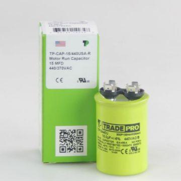 TRADEPRO® TP15440U - 15 MFD 440V Round Capacitor