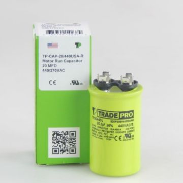 TRADEPRO® TP20440U - 20 MFD 440V Round Capacitor