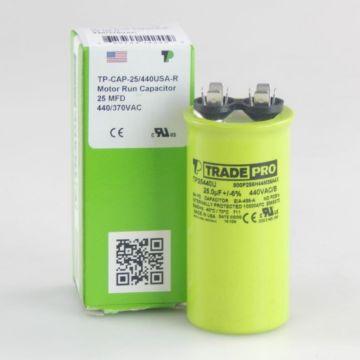 TradePro TP25440U - 25 MFD 440V Round Capacitor