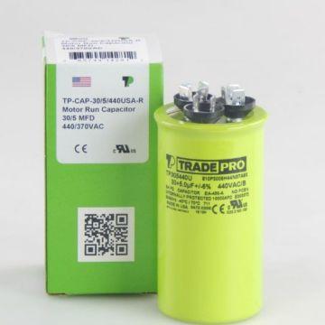 TradePro TP305440U - 30/5 MFD x 440V Round Capacitor