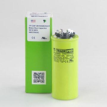 TRADEPRO® TP3510440U - 35/10 MFD 440V Round Capacitor