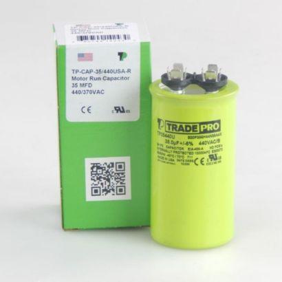 TRADEPRO® TP35440U - 35 MFD 440V Round Capacitor