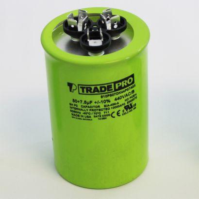 TRADEPRO® TP355440U - 35/5 MFD 440V Round Capacitor